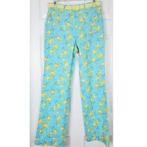 Lilly Pulitzer high rise wide legs floral pants